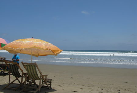 Entspannung pur nach einem erfischenden Wellenbad