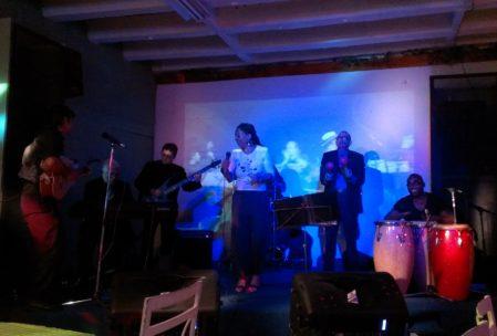 Vamos a bailar - Die sehr charismatische kubanische Sängerin war echt eine Nummer!