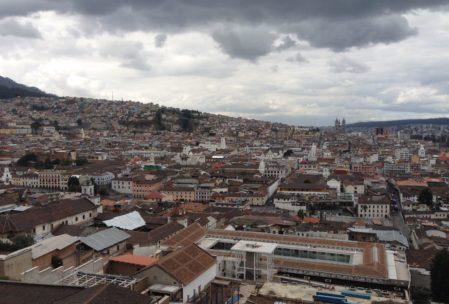 Und auch von oben sieht Quitos Altstadt sehr schön aus!