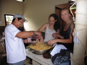 Frühstück ecuadorianisch: Ballons