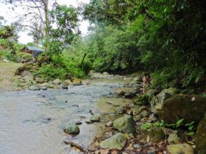 erfrischender Fluss