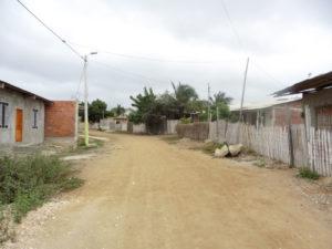 die allgemeinen Straßenverhältnisse in Playas